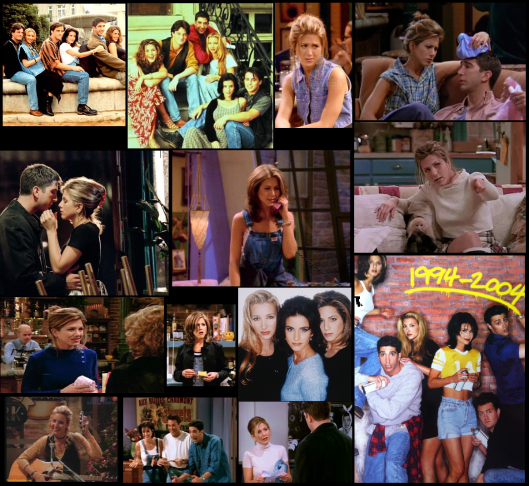 friends in the 90s