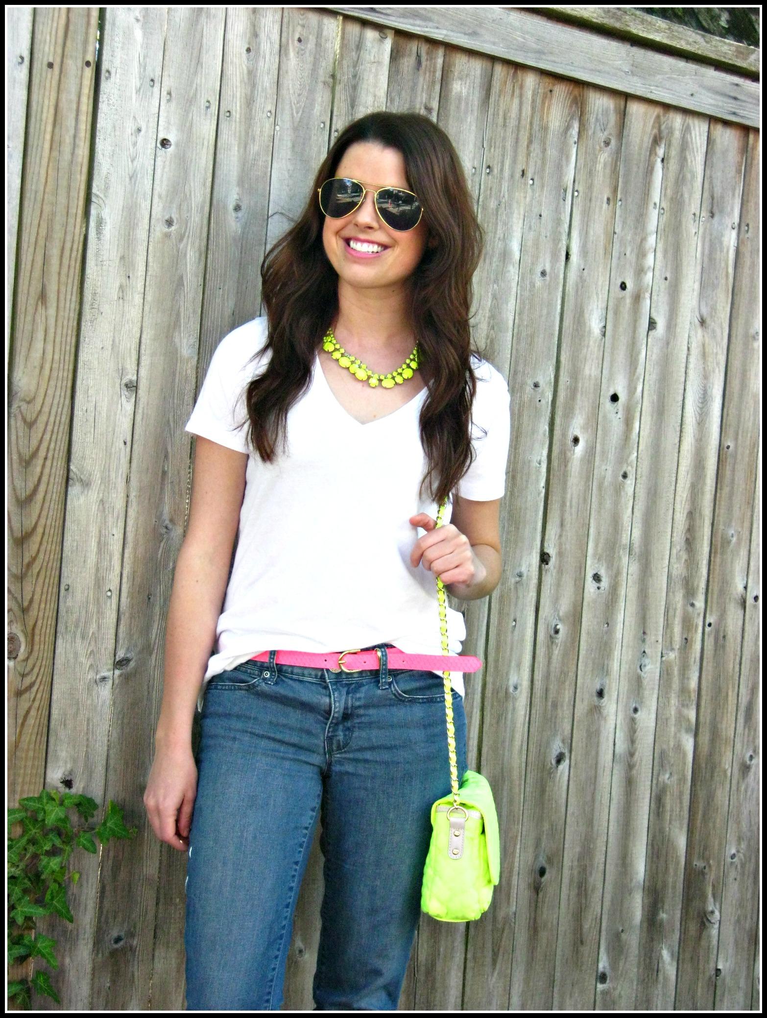 Neon White Shirt | Is Shirt