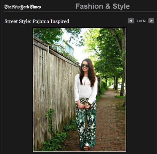 NYtimes st style