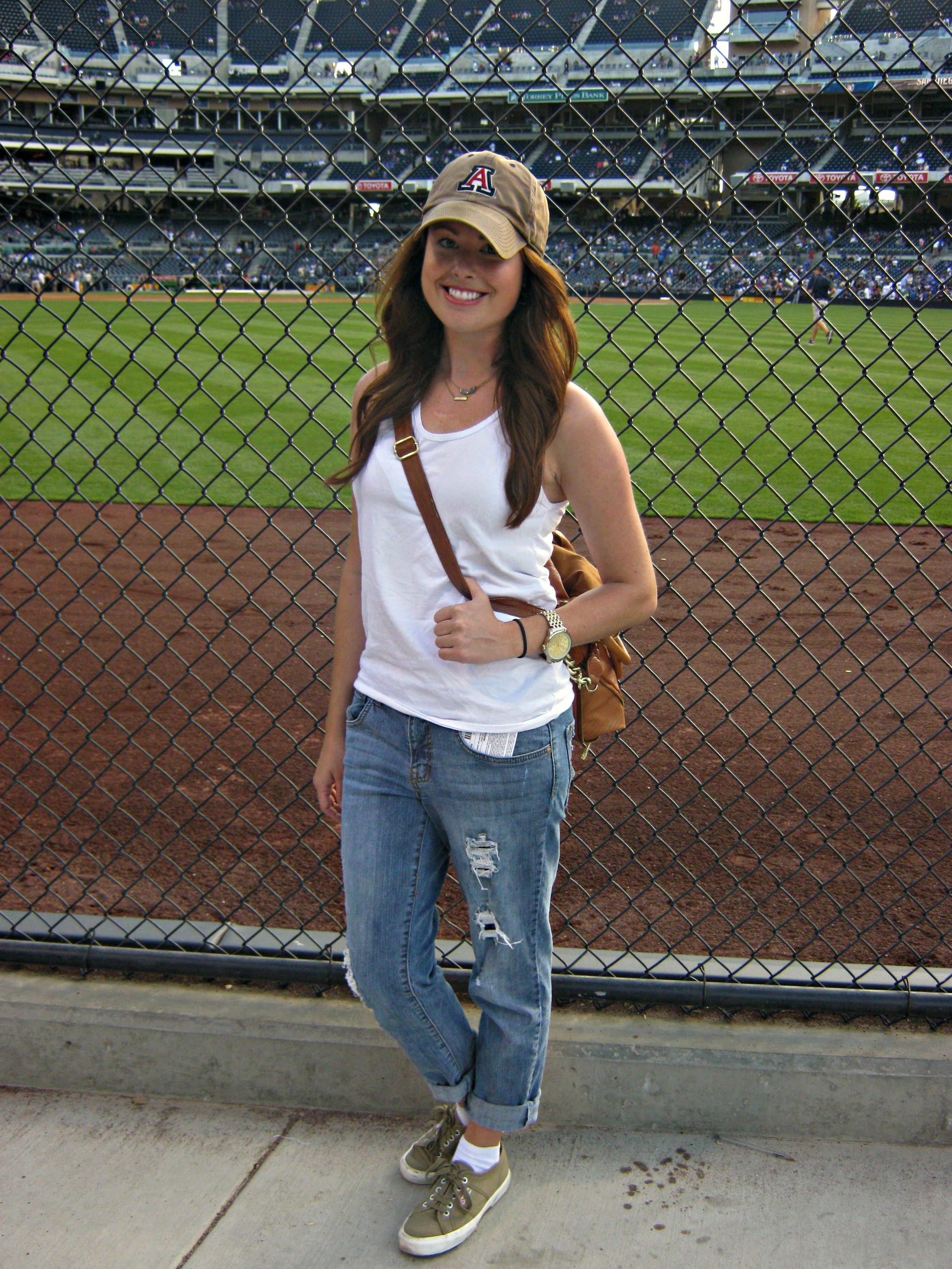 Take me out to the ball game | Abby Vancisin